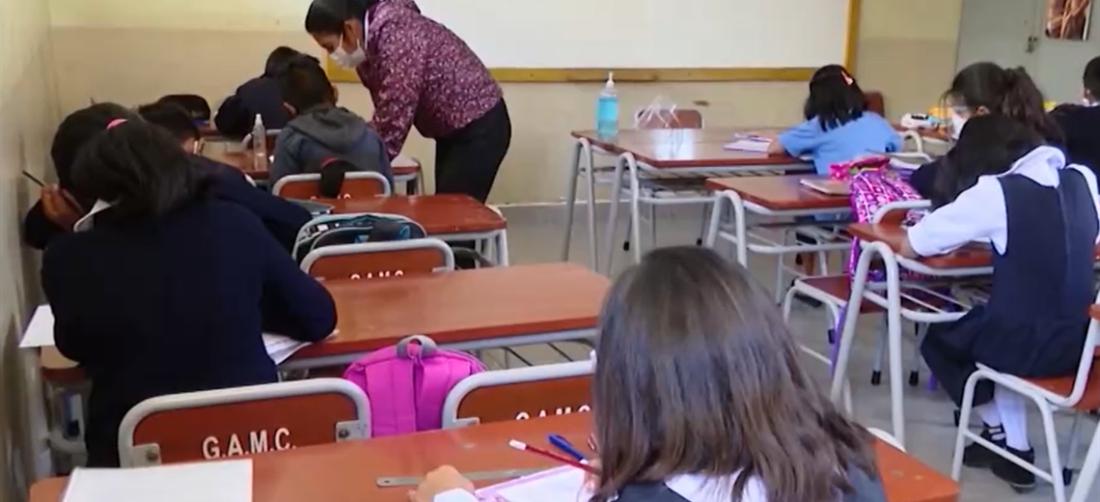 Siete estudiantes y tres maestros fueron contagiado (Imagen referencial)