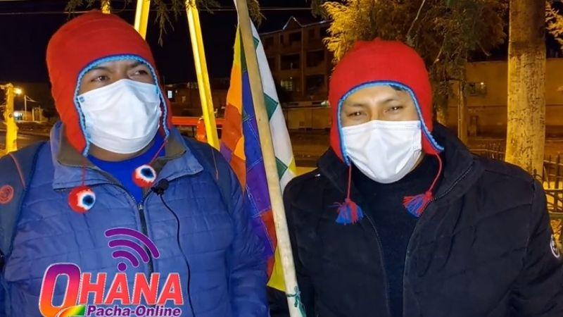 Denuncian que integrante de los Wila Lluch'us es militante del MAS
