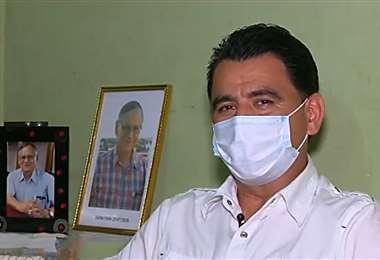 Carlos Hurtado recuerda a su padre, Roberto Tórrez y su lucha contra el Covid-19