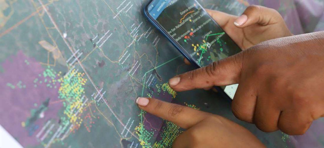 Son 1.212.000 de hectáreas afectadas /Foto: Gobernación
