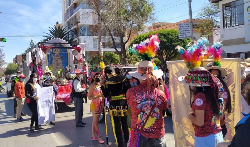 Los conjuntos folclóricos renuevan su devoción a la Virgen de Guadalupe
