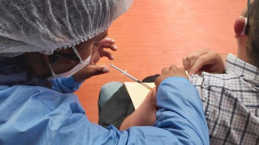 La vacunación continúa este sábado en los puntos habilitados de Sucre
