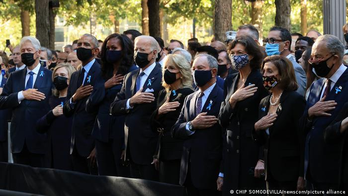USA New York   20. Gedenken an die Terroranschläge 9/11