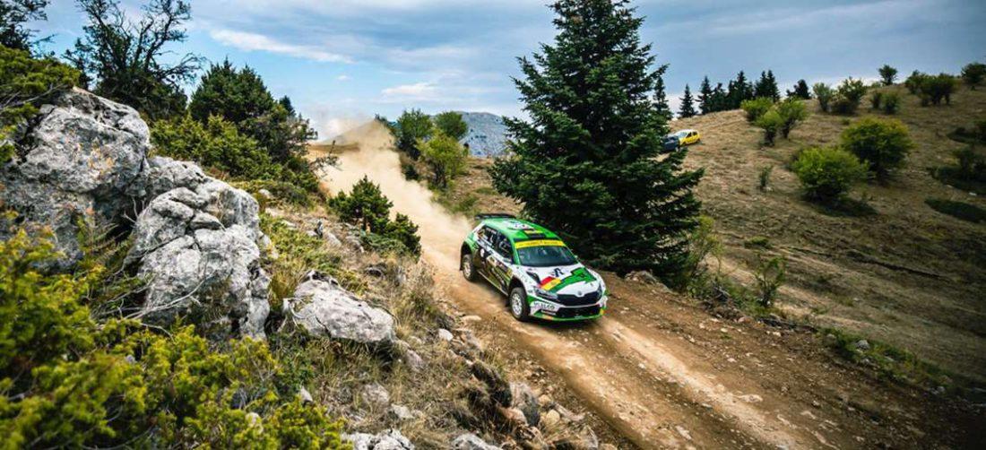 Bulacia hizo una gran carrera en el Rally de Grecia. Foto: WRC