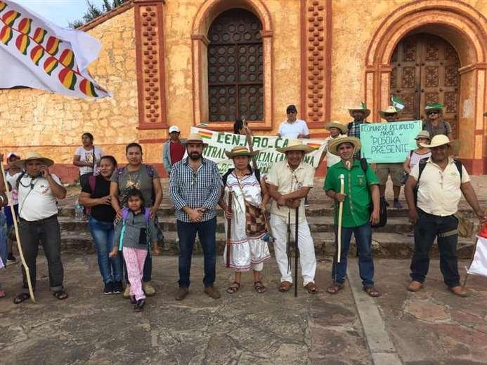 Los comunarios de Pailoncito