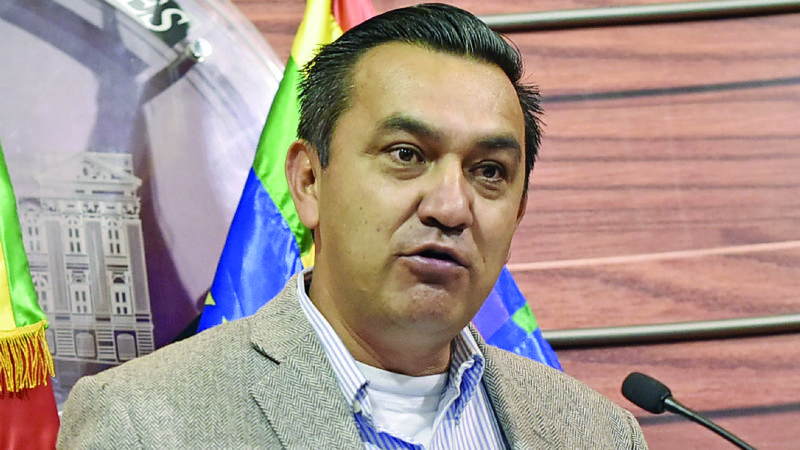 Núñez: «La expresidenta Añez sigue presa por delitos inventados por  Evo»