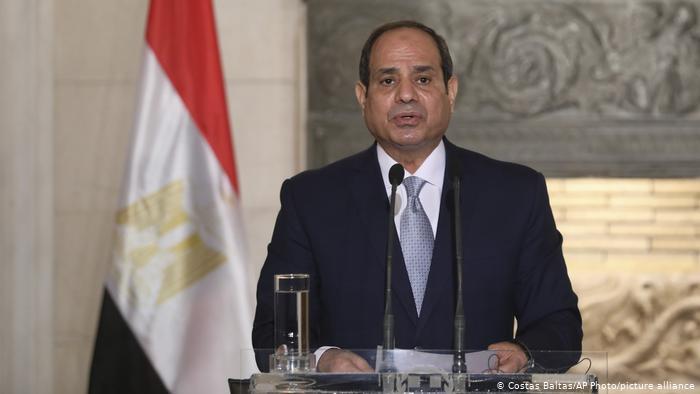 Ägyptien Präsident Abdel Fattah al-Sisi