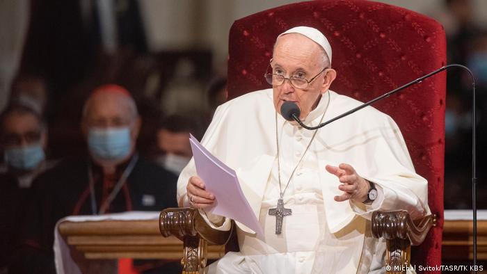 Slowakei   Besuch Papst Franziskus in Bratislava