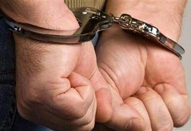 El hombre fue arrestado por la Felcc de El Alto (imagen referencial/internet)