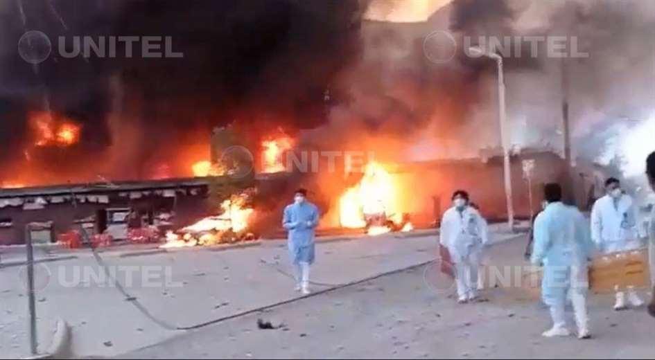 Explosión en Camargo