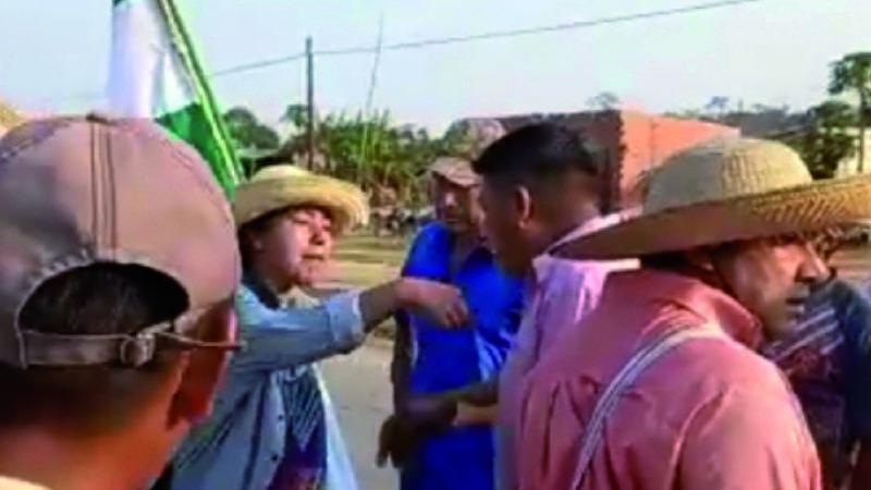 Al menos 5 grupos de choque del MAS actuaron contra opositores