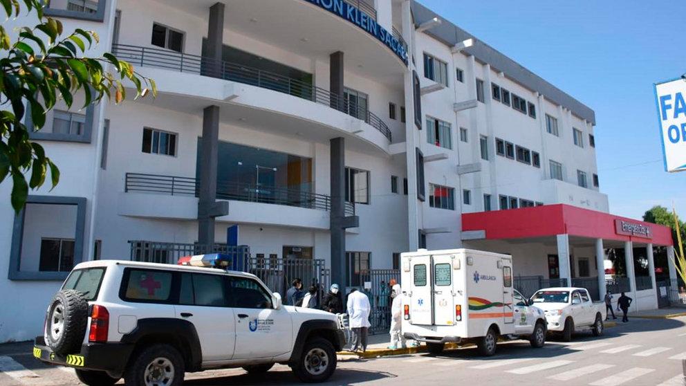 Frontis del hospital Solomon Klein. OPINION