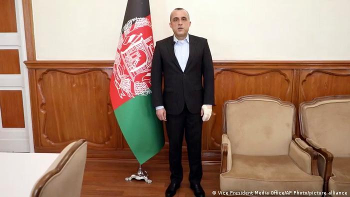 El exvicepresidente afgano Amrullah Saleh en 2020.