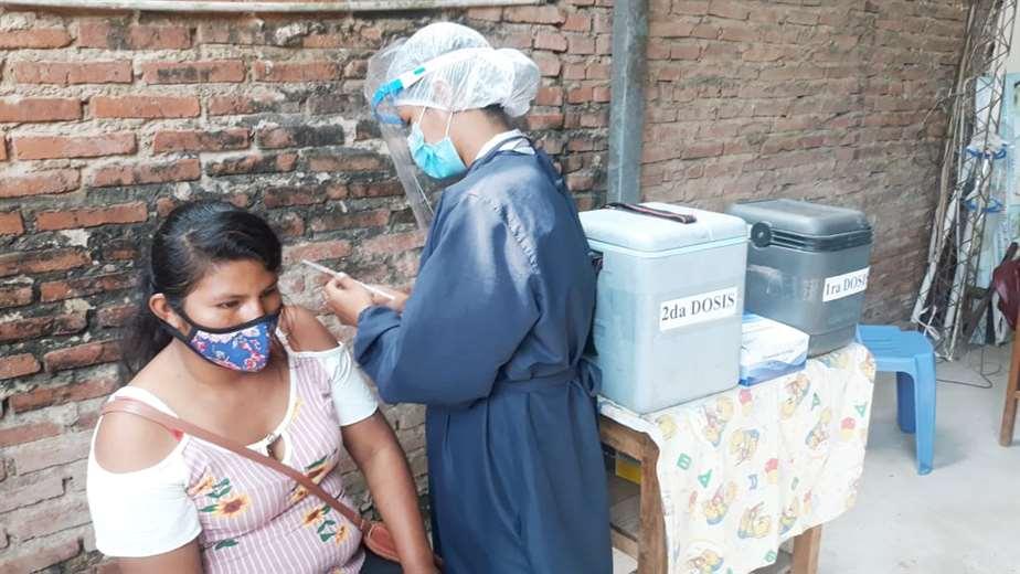 Solo 16 personas se vacunaron con las brigadas móviles esta martes/Foto Soledad Prado