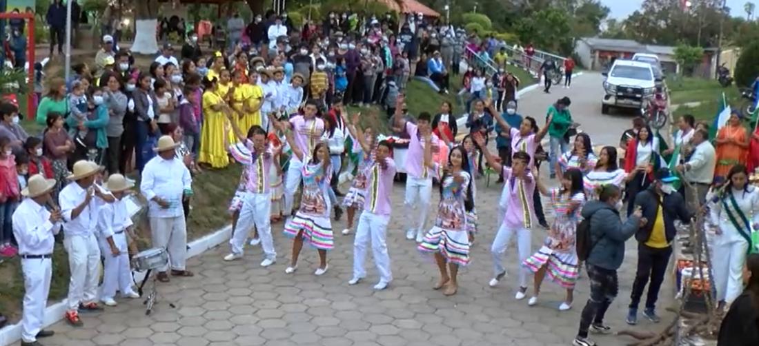 Los comunarios presentaron a sus candidatas para su celebración de este domingo
