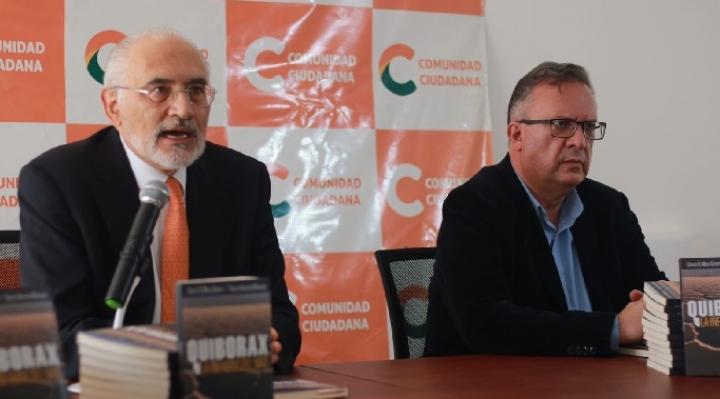 """Mesa denuncia la """"infamia del MAS"""" en un libro sobre el pago de $us 42,6 millones a Quiborax"""