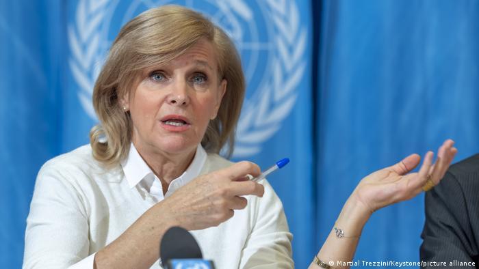 La médico española María Neira, directora del Departamento de Salud Pública y Medio Ambiente de la OMS.