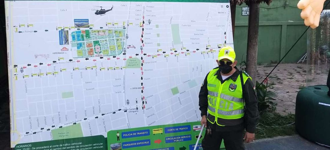 Director de tránsito explica las modificaciones de tránsito por la feria