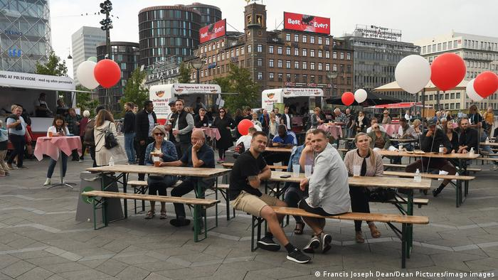Los daneses dijeron adiós a las mascarillas obligatorias el pasado viernes.