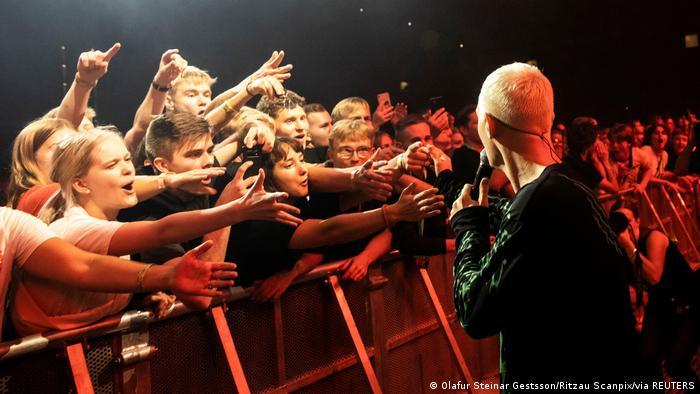 Concierto de la banda The Minds of 99 en Copenhague, el 11 de septiembre.