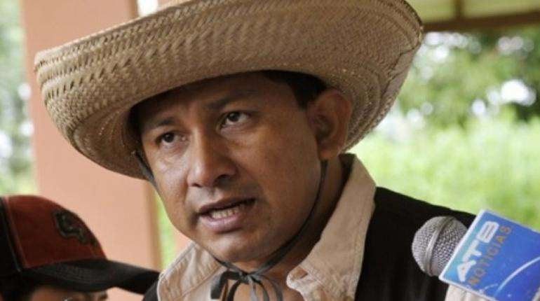 Chávez, dijo que la marcha es pacífica/Foto: EL DEBER