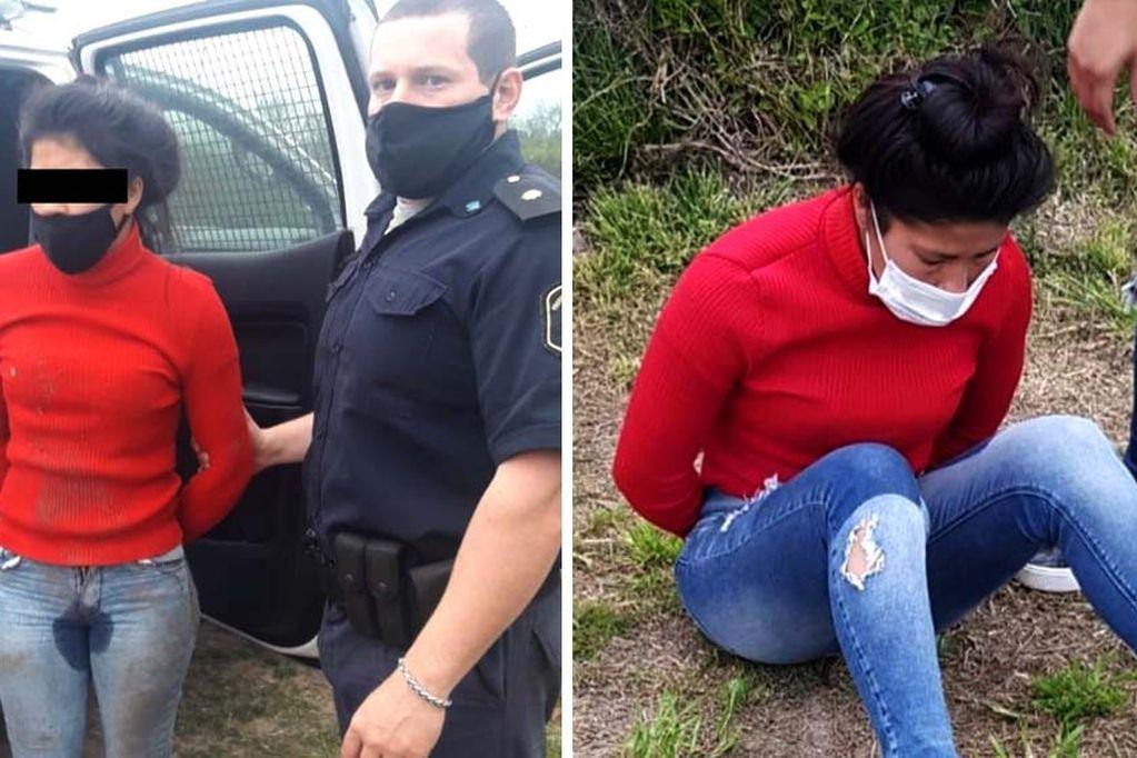 Murió el bebé que fue rociado y prendido fuego junto a su madre por una joven en Rafael Castillo
