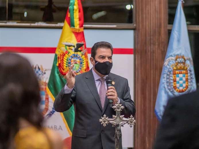 Manfred Reyes Villa, alcalde de Cercado - Foto: Súmate