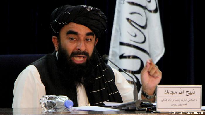 Portavoz del Gobierno, Zabihullah Mujahid.