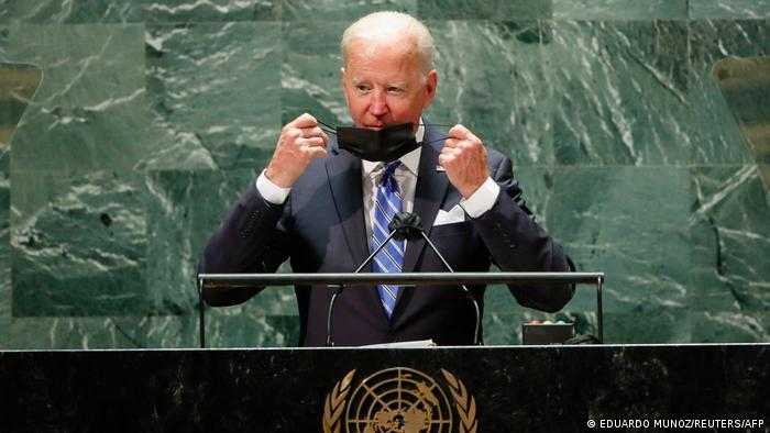 New York UN Vollversammlung | Rede Präsident Joe Biden