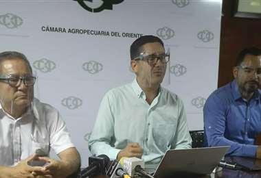 Representantes de la CAO brindaron una conferencia de prensa / Foto: Yerko Guevara