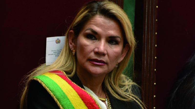 Añez: «La polarización impulsada por el gobierno de Arce en el país se agudiza»