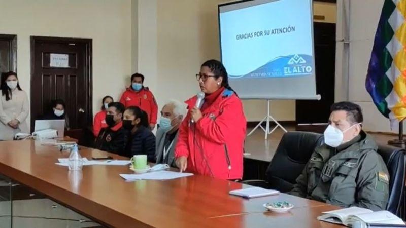 COEM de El Alto decide implementar farmacias municipales ante riesgo de cuarta ola de Covid