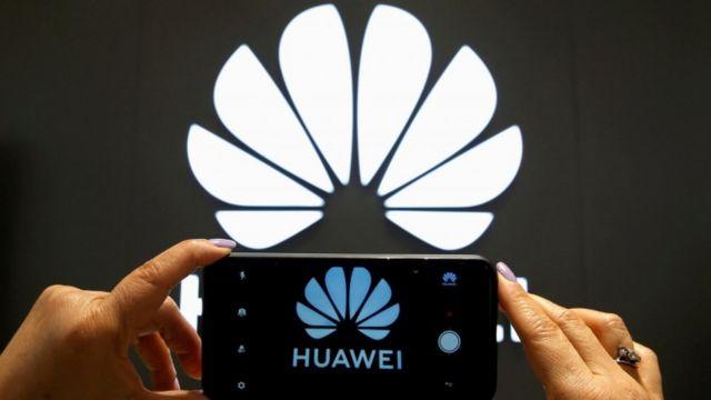 Logo y teléfono Huawei