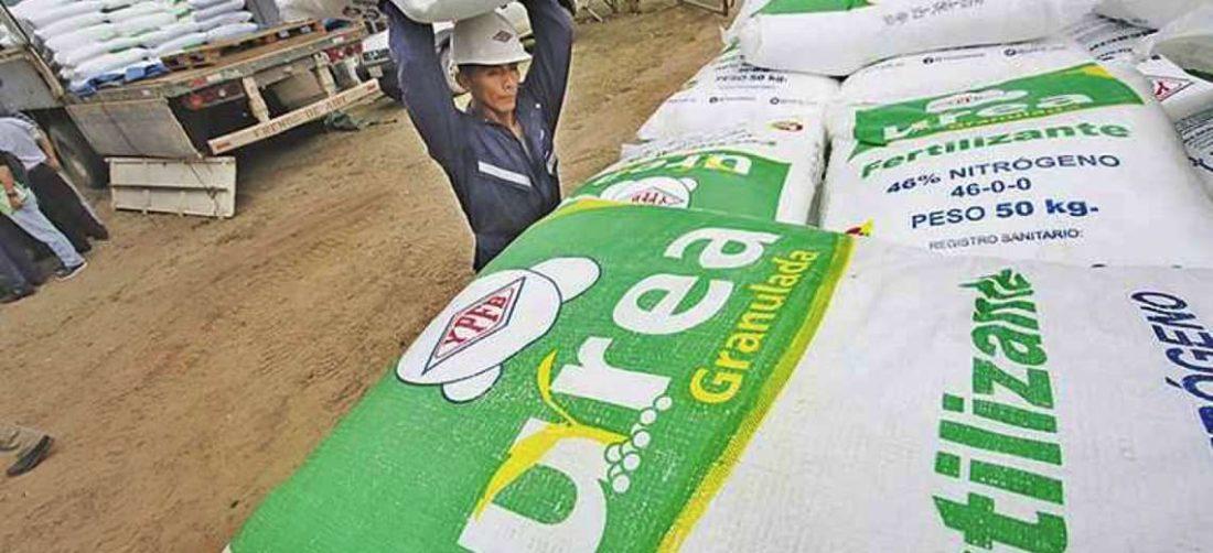 El fertilizante es requerido por los productores nacionales (Foto: EL DEBER)