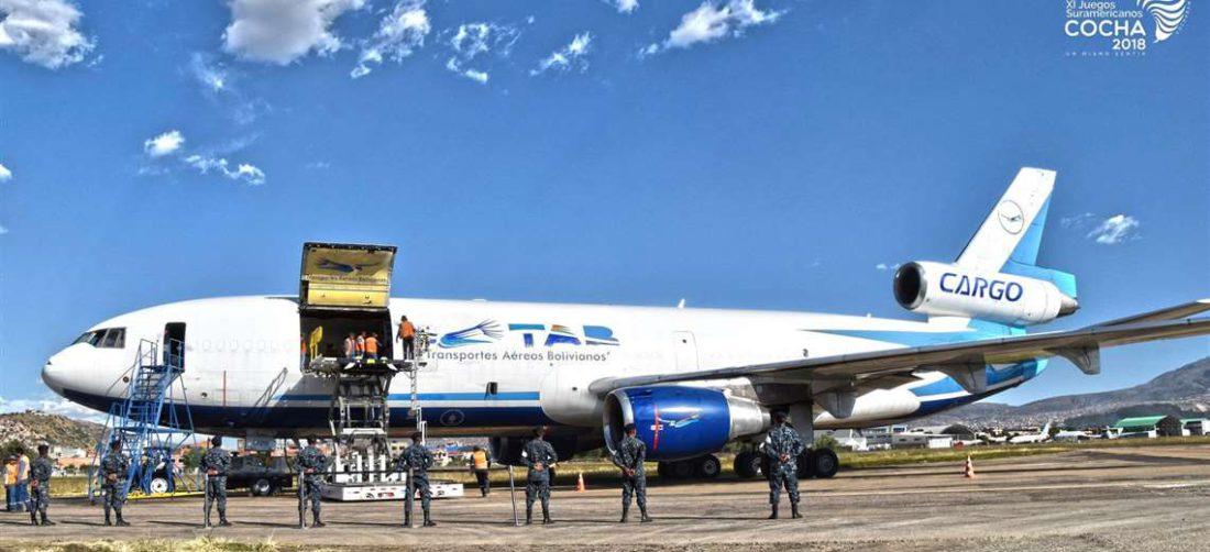 Los importadores se quejan por las demoras en los vuelos del TAB (Foto: Internet)