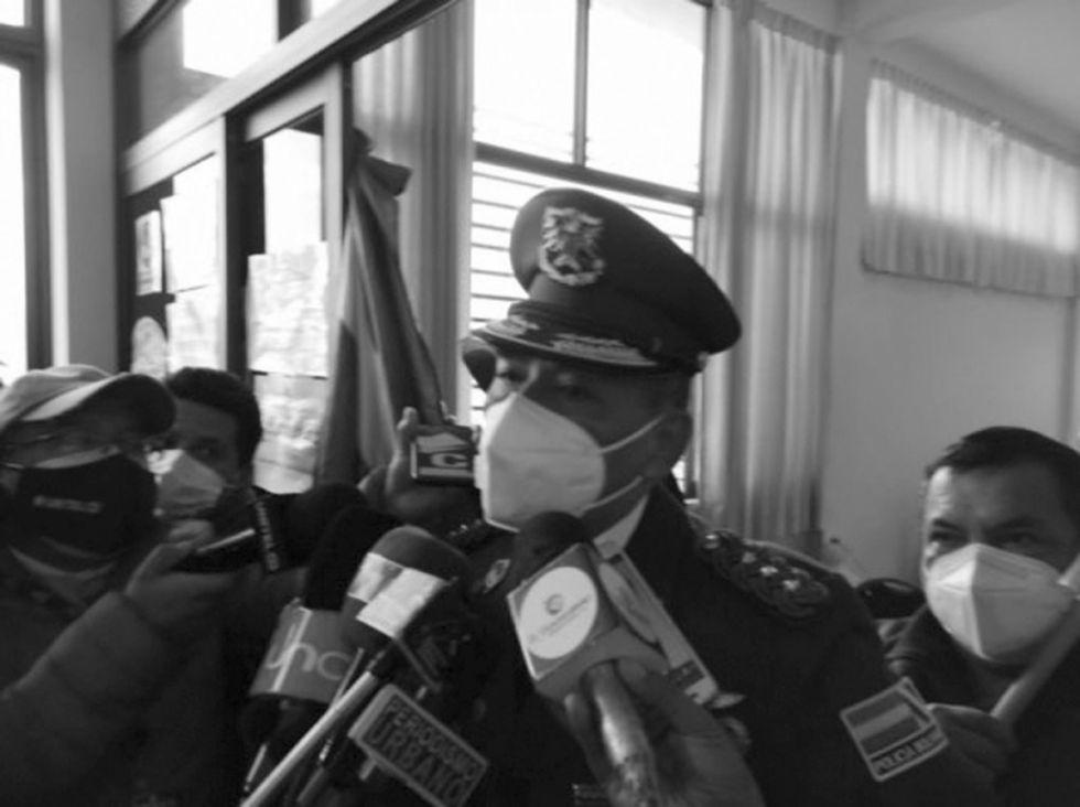 Tarija: Coronel Rivas es dado de baja en la Policía