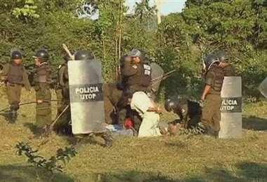 Este sábado se recuerdan 10 años de la represión de Chaparina. Foto: Marcial Fabricano