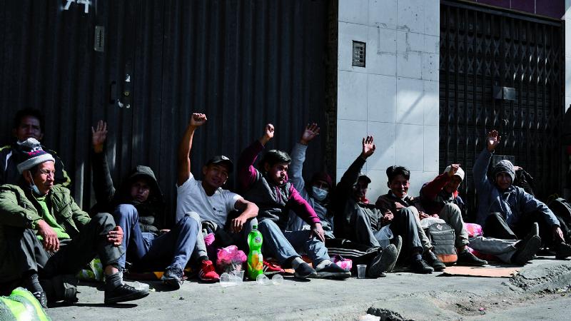 Cocaleros advierten al Gobierno que «unidos» tomarán Adepcoca