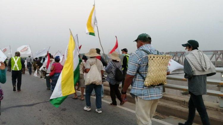 Marcha indígena perfila agenda de 14 puntos, exigirá nuevo pacto fiscal 80/… – deRedes.tv