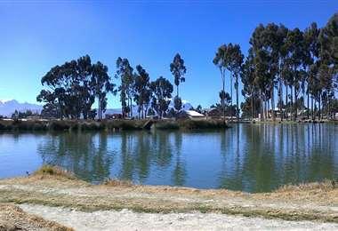 Laguna de Achocalla - Foto referencial