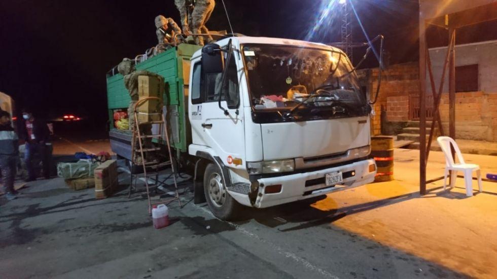 En seis días Aduana decomisó alimentos valuados en Bs 344.000 en Tarija, Potosí y Santa Cruz