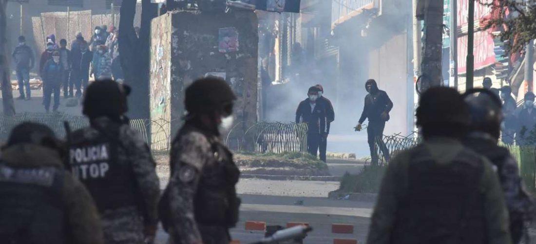 Enfrentamientos en Adepcoca I APG Noticias.