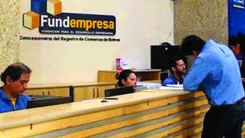 Gobierno aclara que Fundempresa continúa con el registro comercial