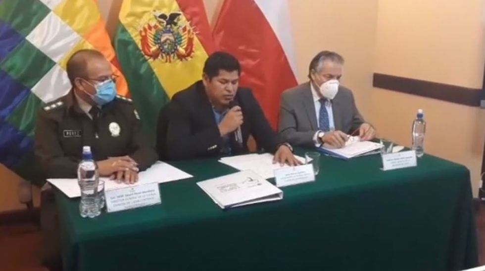 Bolivia y Chile encaran agenda en la lucha conjunta contra el narcotráfico