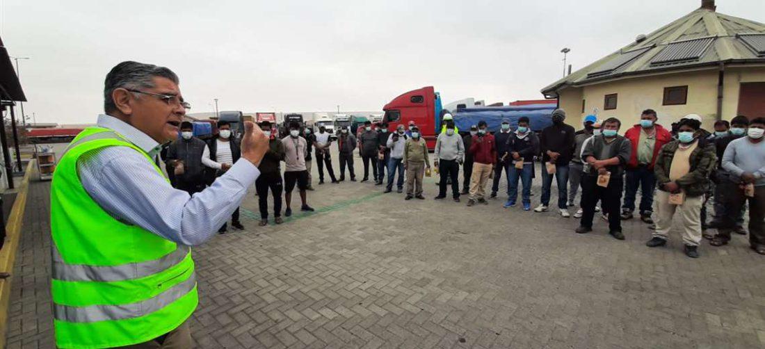 El 30% de la carga del puerto chileno es boliviana/Foto: EPA