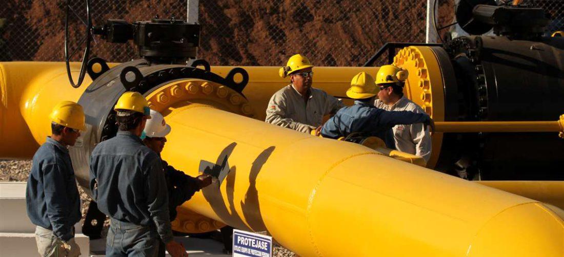 Bolivia vende gas a Argentina y Brasil/Foto: EL DEBER