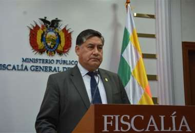 Juan Lanchipa, fiscal general. Foto: Internet