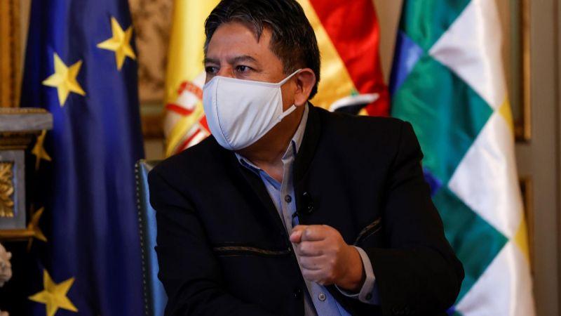 Choquehuanca: En Bolivia hubo golpe, no hay que dejarse llevar por lo que dice la gente