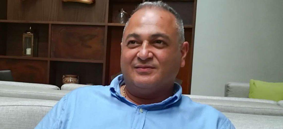 Fernando Costa tiene 51 años y es ingeniero comercial. Foto: Rainer Durán
