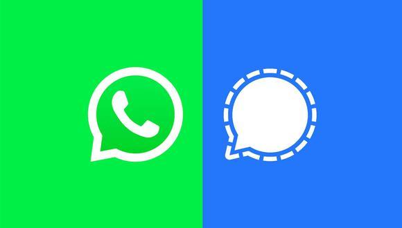 ¿Quieres usar Signal? Pasa todas tus conversaciones de WhatsApp con estos pasos. (Foto: Composición)